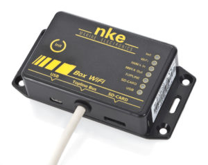 NKE Electronics Box WiFi USB Datalog