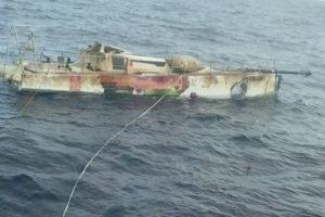 Matteo Miceli Eco 40 naufragio recupero