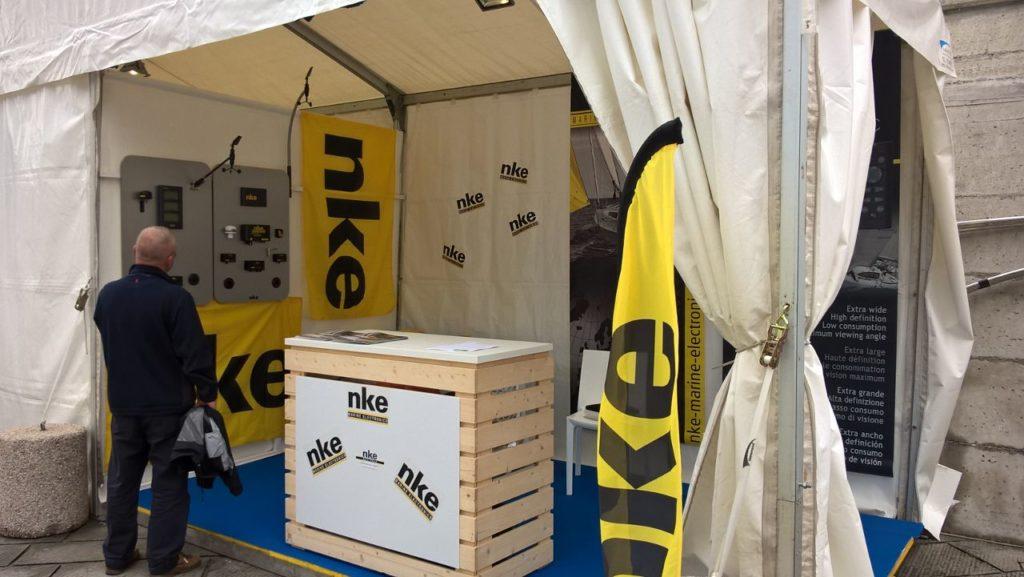 Nke Marine Electronics VELAfestival 2017 stand