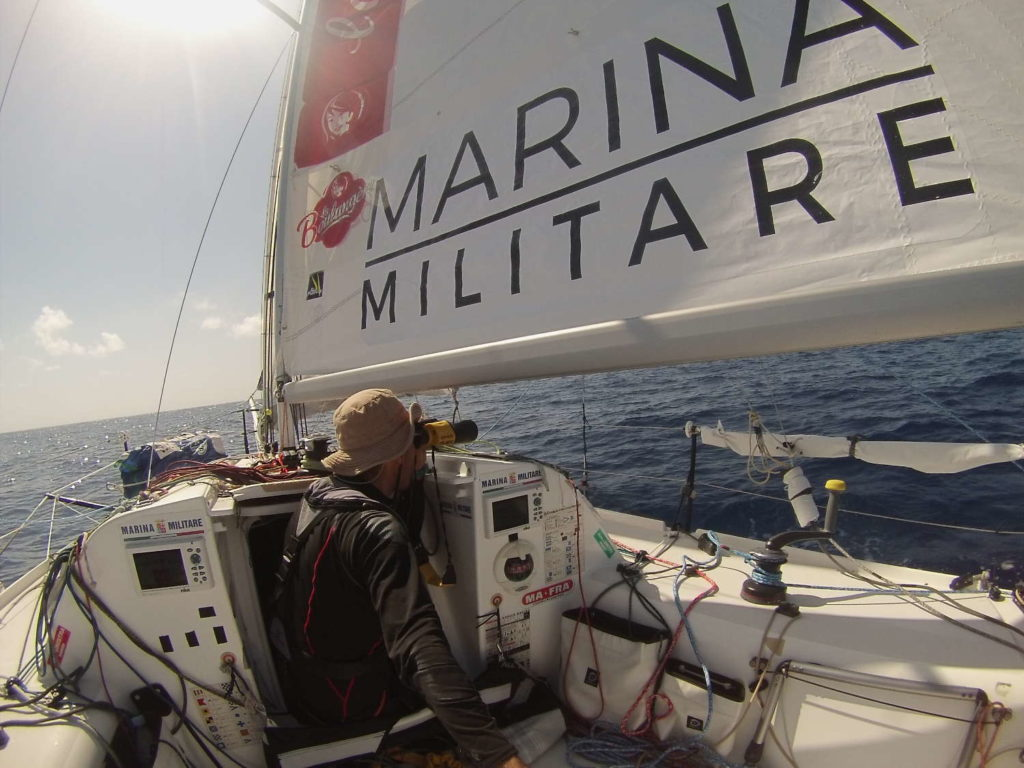 Andrea Pendibene Pegaso Marina Militare Mini Transat